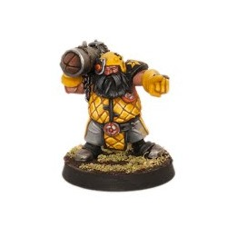 Iron Forgers Bazooka enano Star Player Iron Golems