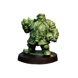 Iron Forgers Dwarf Team Captain Star Player Iron Golems