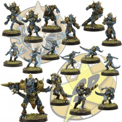 Full lizardmen team SP Miniatures