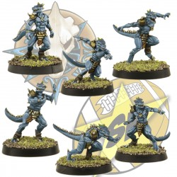 6 small lizardmen pack SP Miniatures