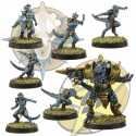 6 small lizardmen and beast pack