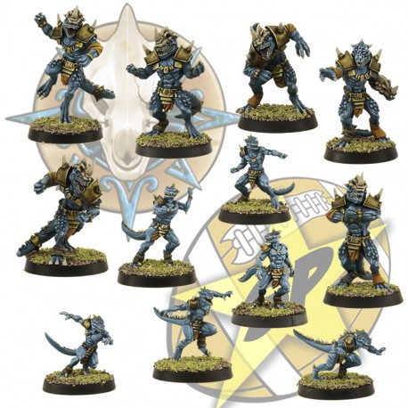 6 + 6 lizardmen SP Miniatures