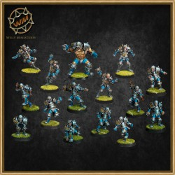 Equipo humano WM - Willy Miniatures