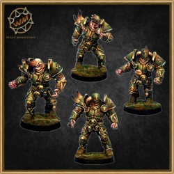 LORDS OF CORRUPTION WARRIORS PACK WM - Willy Miniatures