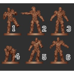 LORDS OF CORRUPTION ROTTERS PACK WM - Willy Miniatures