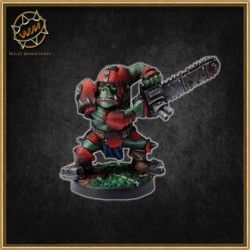 ORC WITH CHAINSAW WM - Willy Miniatures
