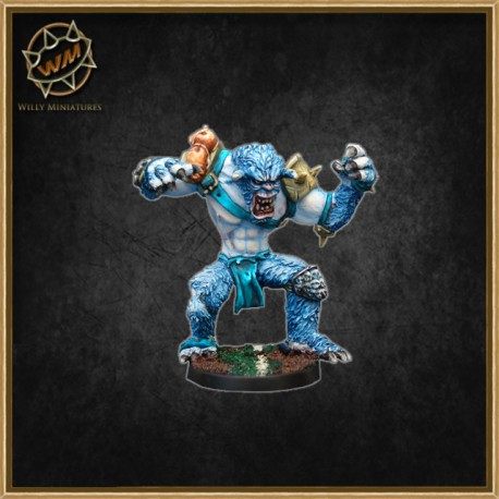 SNOW TROLL WM - Willy Miniatures