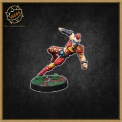 HYPNOTIC EYES ELF STAR PLAYER WM - Willy Miniatures