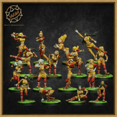AMAZON TEAM WM - Willy Miniatures