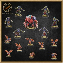 DRACONIAN TEAM WM - Willy Miniatures