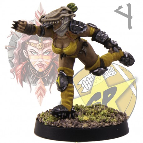 Blitzer amazona 4 SP Miniatures