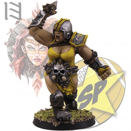 Amazon ogre SP Miniatures