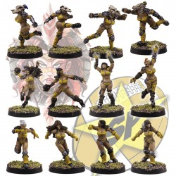 Equipo Basic Amazonas x12 SP Miniatures