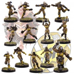 Amazon full team x13 SP Miniatures