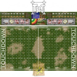 Fantasy Football Field used grass small