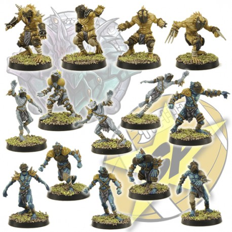 Deep Ones team x 14 SP Miniatures