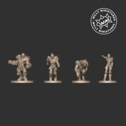 LORDS OF CORRUPTION RACIAL ROTTERS PACK WM - Willy Miniatures