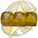 Block dice (yellow)