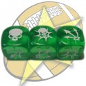 Block dice (green)