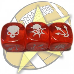 Block dice (red)