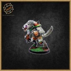 WEREWOLF STAR PLAYER WM - Willy Miniatures