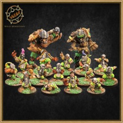 IMPERIAL HALFLING TEAM WM - Willy Miniatures