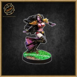 Bruja elfa Star Player WM - Willy miniatures