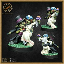 Goblins recién casados WM - Willy Miniatures