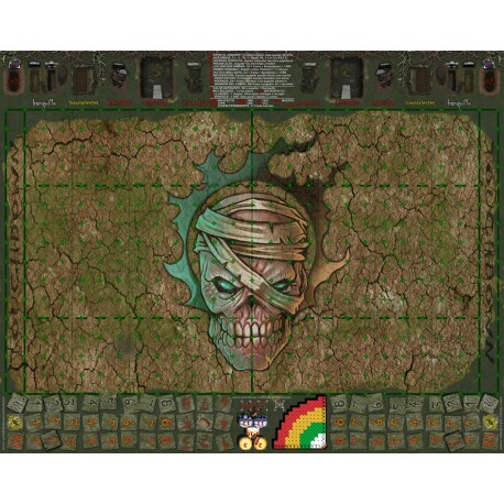 Fantasy Football Field undead 34mm