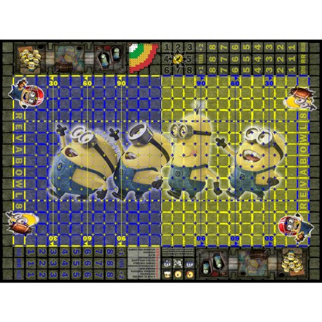 Fantasy Football Field minions 29mm