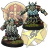Pack Dwarves Blockers 7+8 SP Miniatures