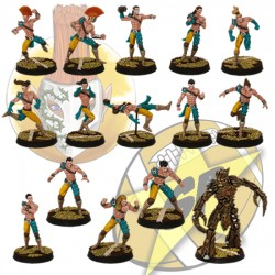 Full Elf team x15 SP Miniatures