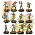 Elf basic team x12 SP Miniatures