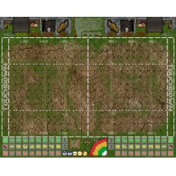 Campo Fantasy Football césped y tierra 34mm