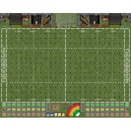 Campo Fantasy Football césped 34mm