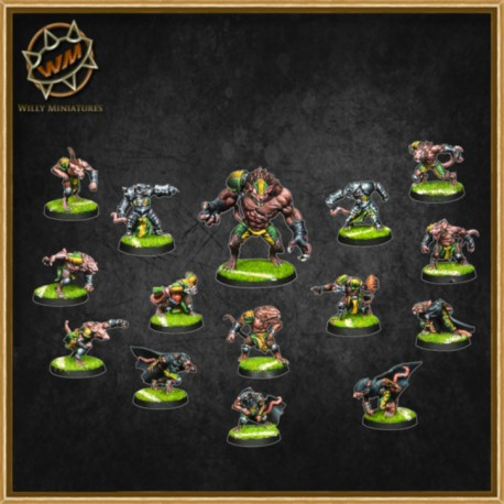 RATMEN TEAM WM - Willy Miniatures