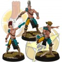 Pack 3 Star Players elfos SP Miniatures