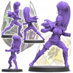Dark elf witch Star Player SP Miniatures