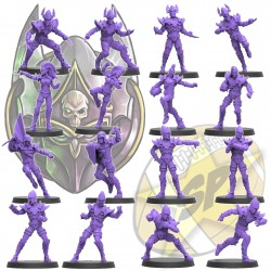 Pre-Order Dark Elves x16 SP Miniatures