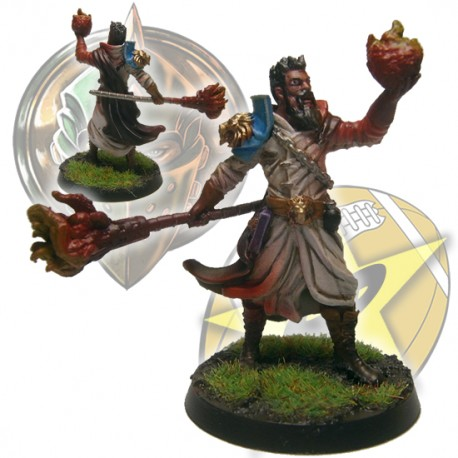 Lions of Fire Wizard - starplayershop com
