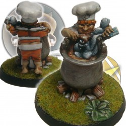 Chucky Halfling Chicken Devourers SP Miniatures