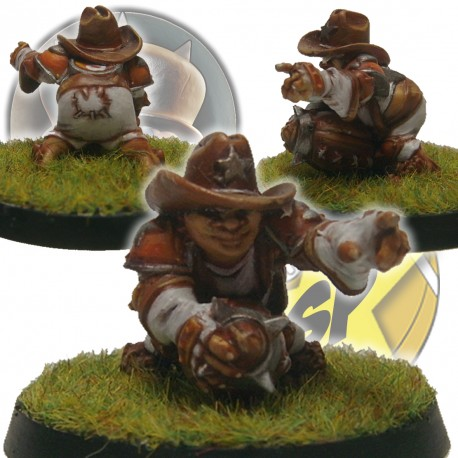 Tiano Halfling Chicken Devourers SP Miniatures