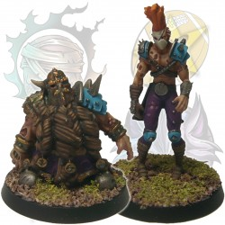 Dwarf & forest elf zombies pack