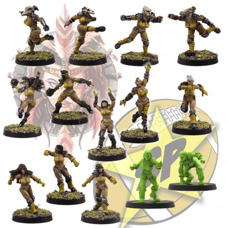Equipo Basic Amazonas x 14 SP Miniatures