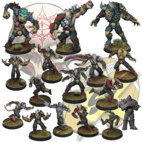 Full team Chaos Pact SP Miniatures