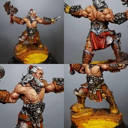 Axe Barbarian HH Fantasy Miniatures