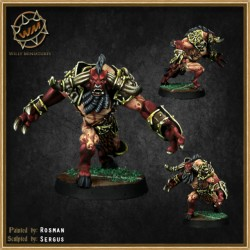 CHAOS DWARF MINOTAUR WM - Willy Miniatures