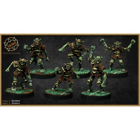 HOBGOBLINS PACK WM - Willy Miniatures
