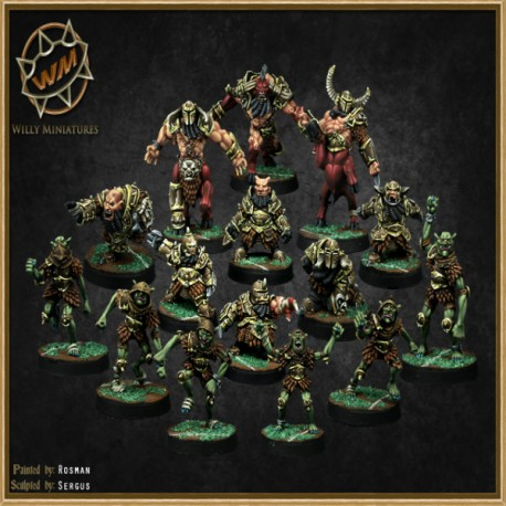 CHAOS DWARF TEAM WM - Willy Miniatures