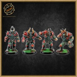 CHAOS WARRIORS WM - Willy Miniatures